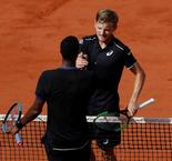 Roland Garros: David Goffin vs Gael Monfils