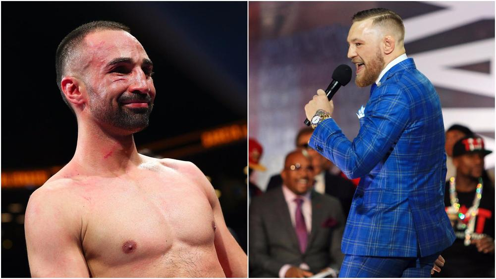 McGregor's Photographer Claims Malignaggi Was Dropped