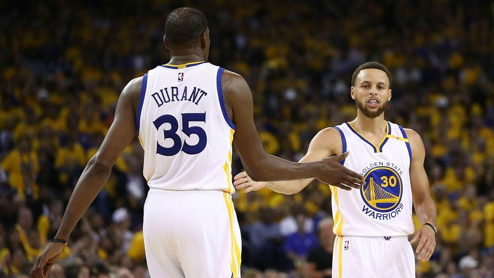 Golden State Warriors sweep San Antonio Spurs to reach NBA Finals