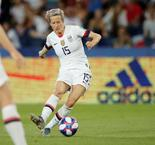 Rapinoe Nets Brace Against France