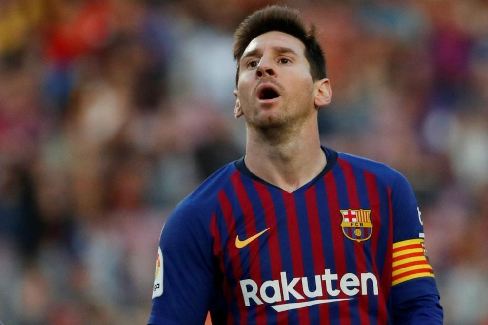 Messi l'a mauvaise