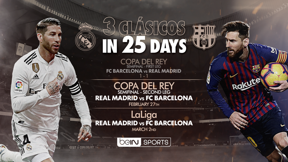 How To Watch The Next El Clasico Match Between Real Madrid And