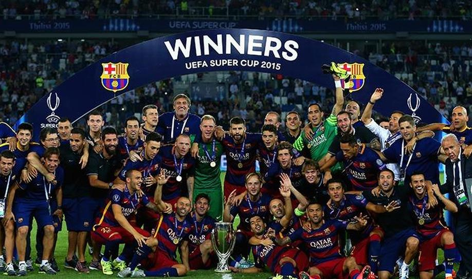 Barcelona Beats Sevilla in Extra Time and Win UEFA Super Cup