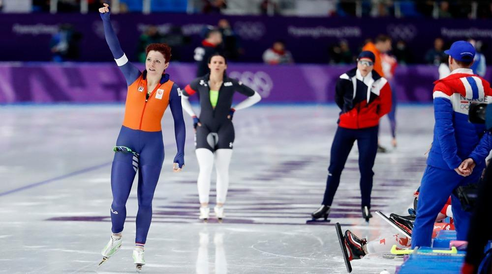 Jorien Ter Mors secures speed skating gold with Olympic ...