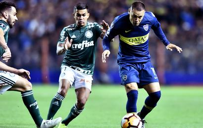Boca Juniors 2 Palmeiras 0  Benedetto the hero with late brace ea3a990d90dcb
