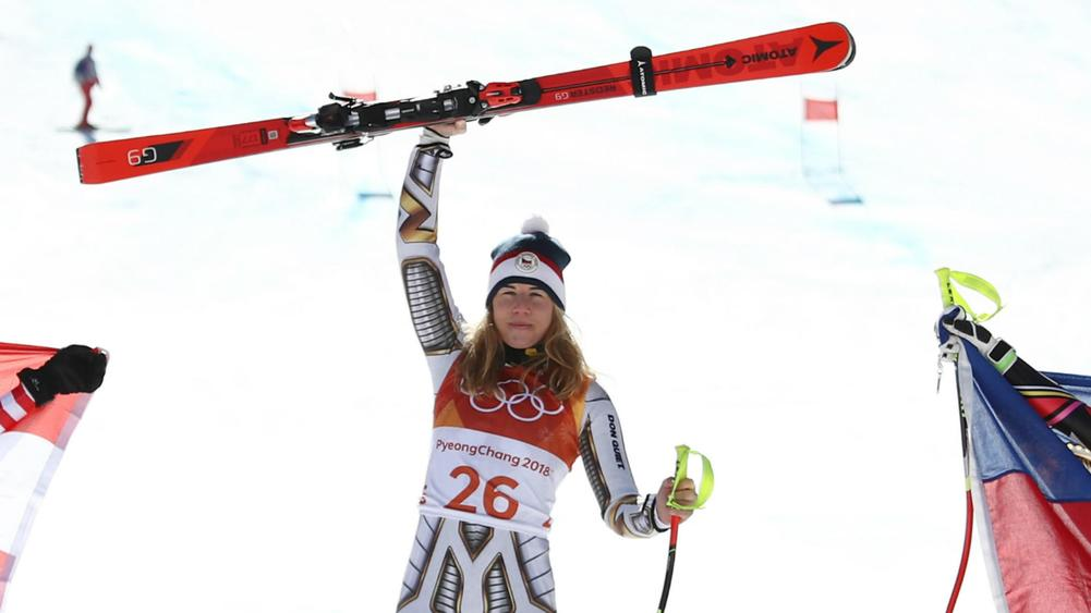 Olympics 2018: Lindsey Vonn finishes tied for 5th in super-G