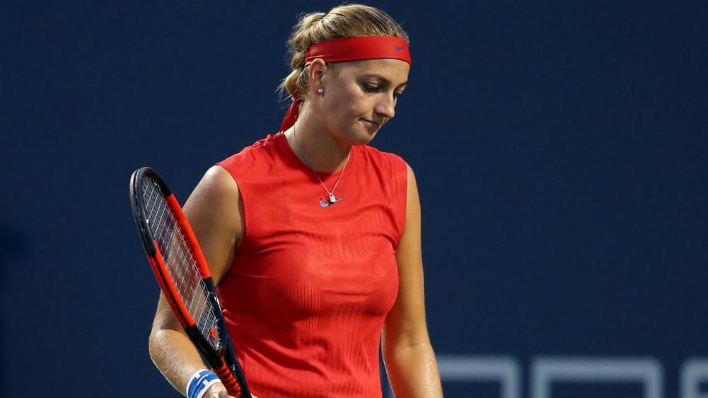 Petra Kvitova knocked out of Connecticut Open