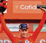 Froome on verge of Grand Tour double as De Gendt wins in Gijon