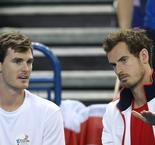 "Grande-Bretagne/Japon: les ""Murray brothers"" frappent encore en double"