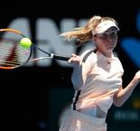 Fourth seed Elina Svitolina comes from a set down to beat Katerina Siniakova