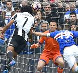 Juan Cuadrado Header Secures 1-0 Win for Juventus Over Sampdoria