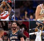 Warriors, Raptors, 76ers and Pelicans Capture Game-One Wins