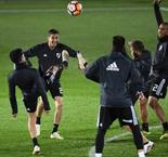 Boca and River train in Madrid for 'weird' Libertadores final