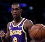 Rondo returns to Lakers practice, LeBron back next week
