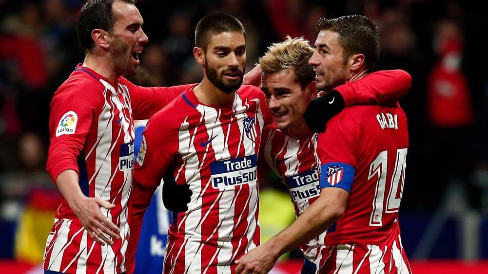 Diego Simeone pleased with 'insistent' Atletico Madrid after late winner