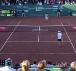 Houston - Chardy manque 5 balles de match