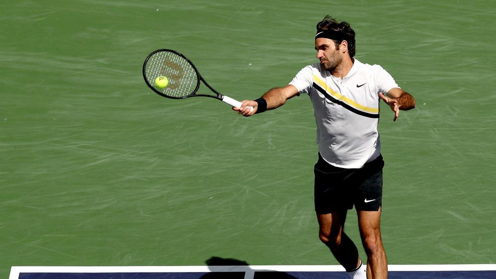Indian Wells: Potro beat Federer,Osaka beats Kastkina