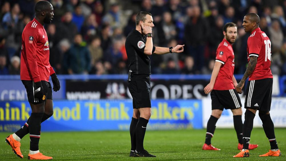 FA Cup match report Huddersfield Town v Manchester United 17 February 2018