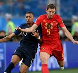 He's a great player – Vertonghen impressed by Mbappe