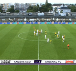 Match amical: Angers tient tête à Arsenal 1-1