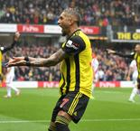Watford 2 Crystal Palace 1: Pereyra on target after Capoue's lucky escape