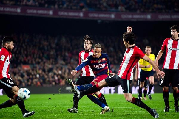 Barcelona 3-1 Athletic Bilbao (agg 5-2)