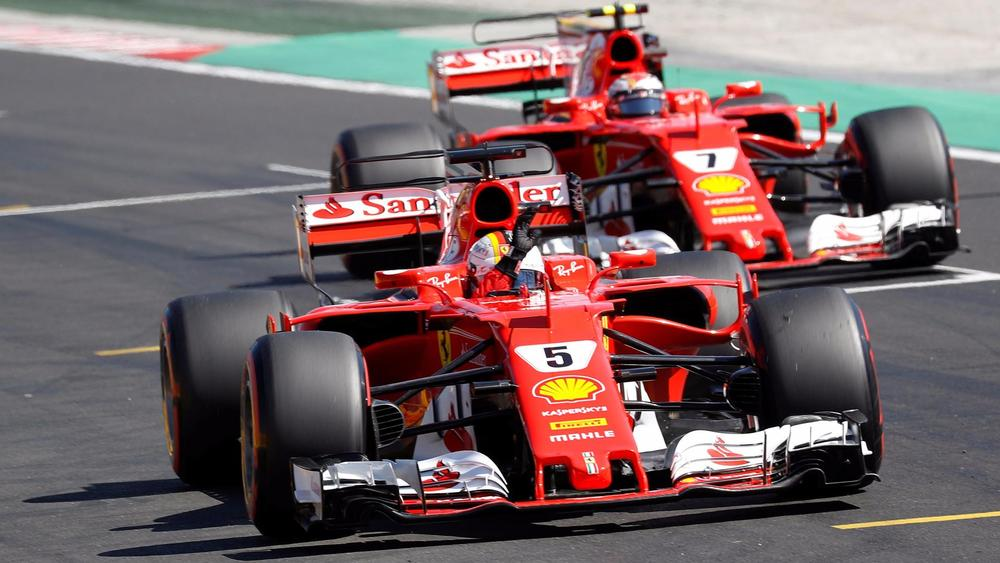 gp de hongrie sebastian vettel ferrari d croche sa 48e pole position. Black Bedroom Furniture Sets. Home Design Ideas
