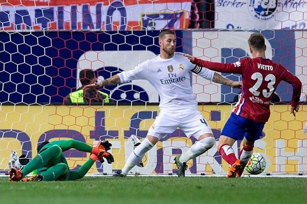 Atletico Madrid 1-1 Real Madrid