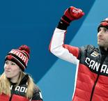 Canada hammer Switzerland to take mixed curling gold