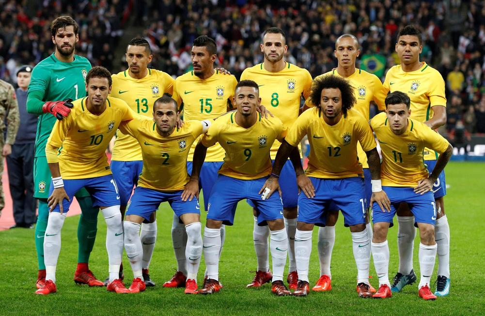 World Cup 2018 Brazil Full Team