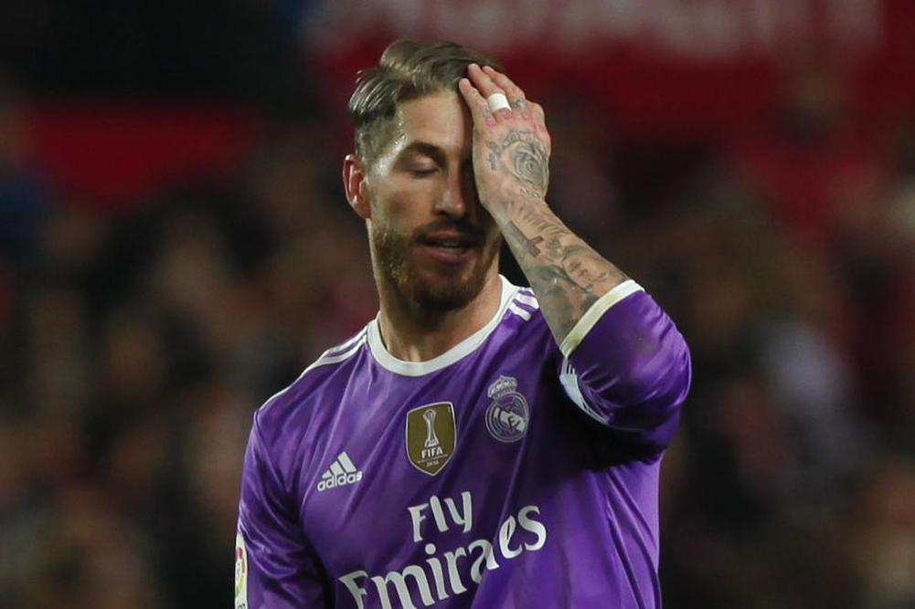 Real Madrid: Sergio Ramos souffre
