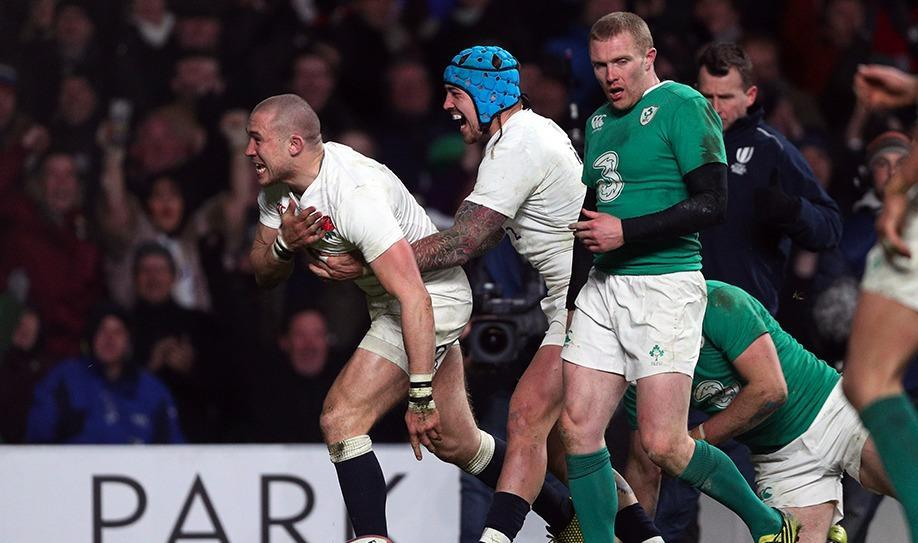 England maintain perfect record with Ireland victory