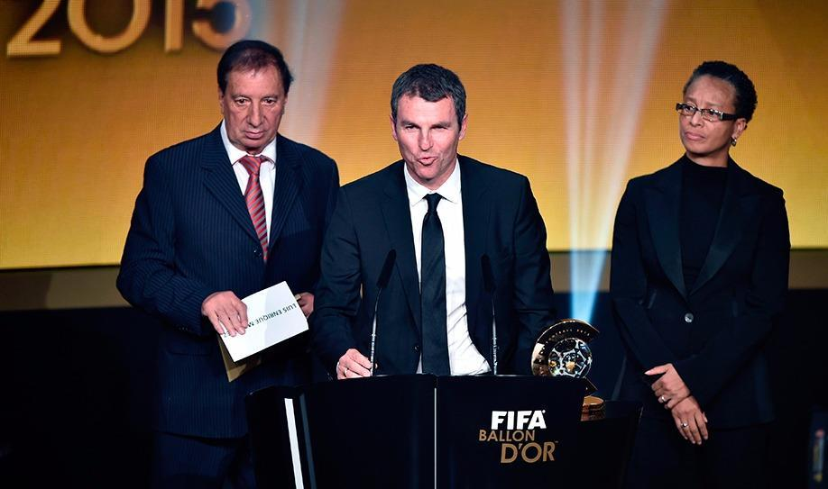 Luis Enrique wins 2015 Coach of the Year