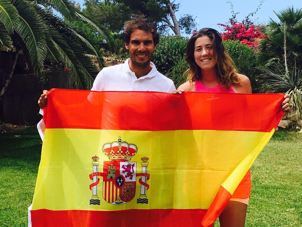 Spaniards Rafael Nadal, Garbine Muguruza named ITF world champions