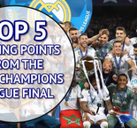 Top five storylines from a historic Champions League final