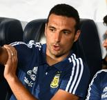 Argentina boss Scaloni discharged after cycling accident