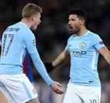 Aguero and De Bruyne in contention for Manchester City v Everton