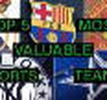 Top 5 most valuable sports teams