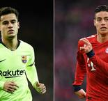 Coutinho to Bayern Munich: How the new recruit from Barcelona compares to James Rodriguez