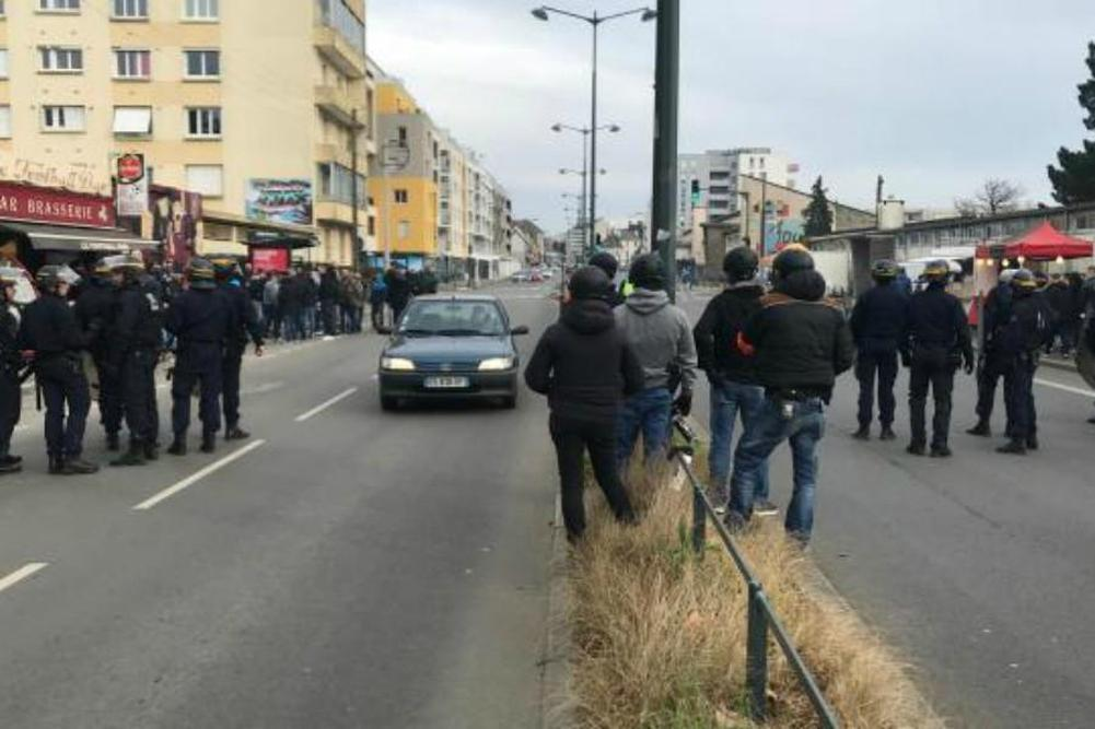Incidents en marge de Rennes-OM