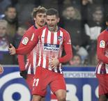 Huesca 0 Atletico Madrid 3: Dominant Atleti keep pressure on Barca