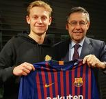 De Jong: I spoke to PSG and City before signing for Barca
