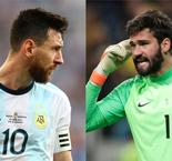 Alisson Confident In Coming Out On Top Against Messi Once More As Argentina Clash With Brazil