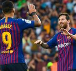Messi and Suarez outscoring Real Madrid and Atletico in LaLiga