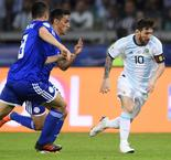 Messi scores but draw leaves Argentina on brink