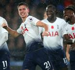 Foyth Helps Spurs Secure Fourth Successive Win, 1-0, Over Crystal Palace