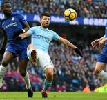 Manchester City 1-0 Chelsea in words and numbers