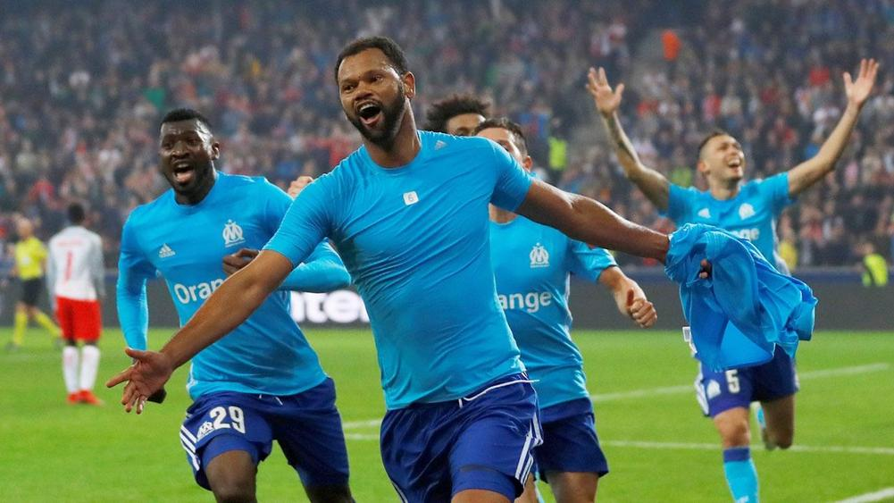 Marseille snatch extra-time victor at Salzburg to set up Atletico final