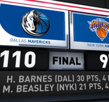 GAME RECAP: Mavericks 110, Knicks 97