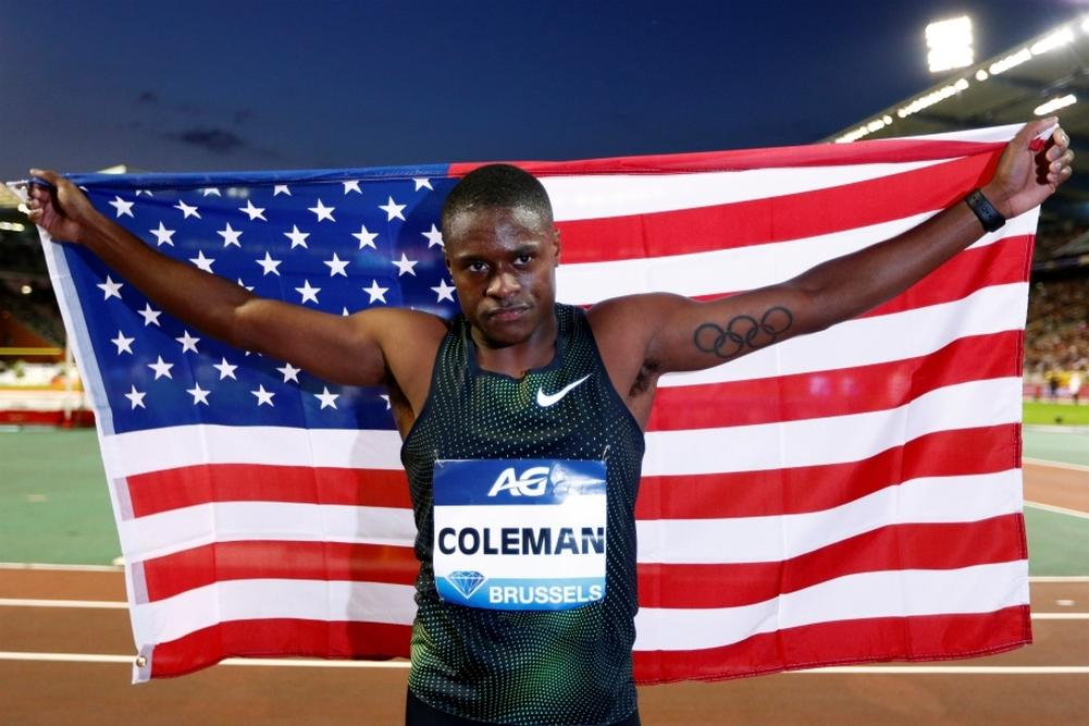 Diamond League-Bruxelles-100m (M): Coleman prend largement la MPM